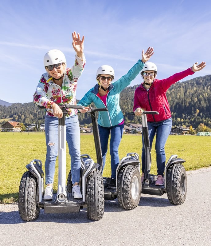 Segway Lake Tour
