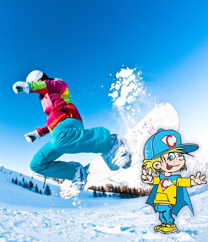 Snowboard course Kids - full day